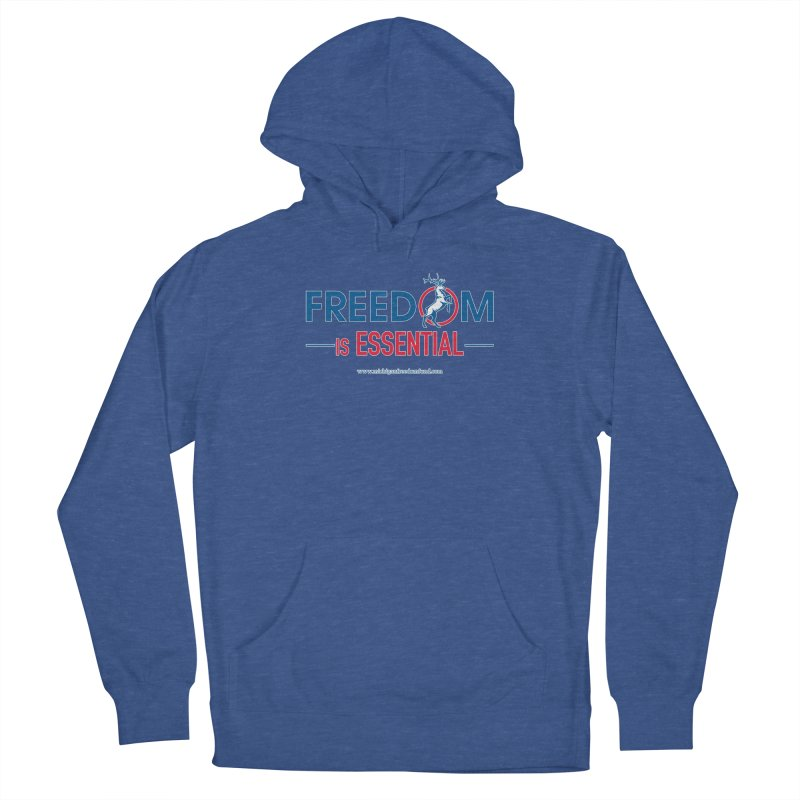 FREEDOM is Essential Men's Pullover Hoody by Freedom Gear