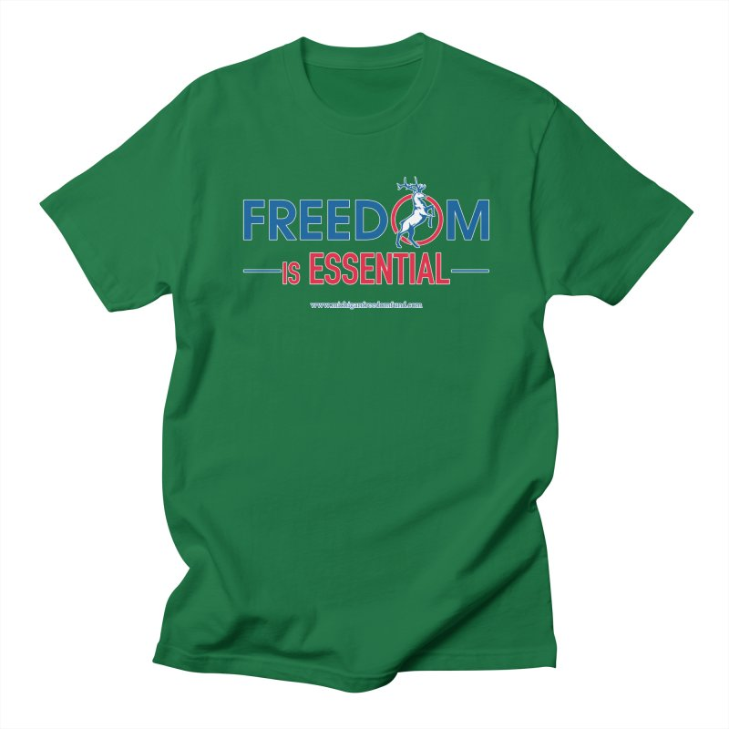 FREEDOM is Essential Men's T-Shirt by Freedom Gear