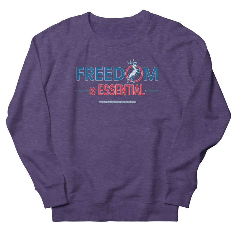 FREEDOM is Essential Men's Sweatshirt by Freedom Gear