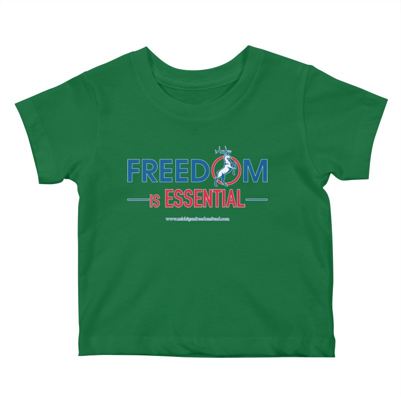 FREEDOM is Essential Kids Baby T-Shirt by Freedom Gear