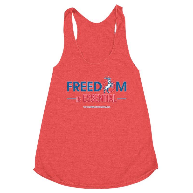 FREEDOM is Essential Women's Tank by Freedom Gear