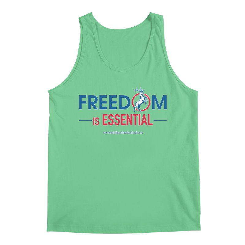 FREEDOM is Essential Men's Tank by Freedom Gear
