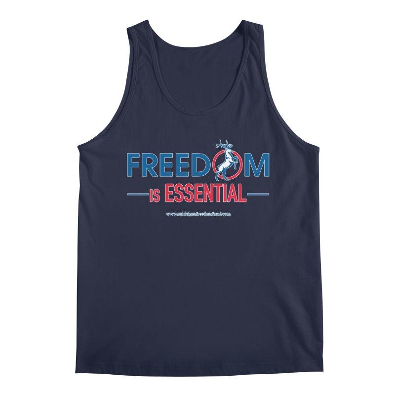 FREEDOM is Essential Men's Tank by Freedom Gear