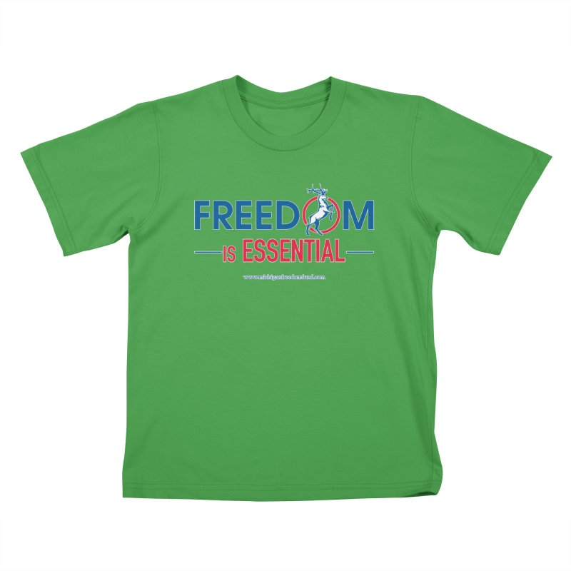 FREEDOM is Essential Kids T-Shirt by Freedom Gear