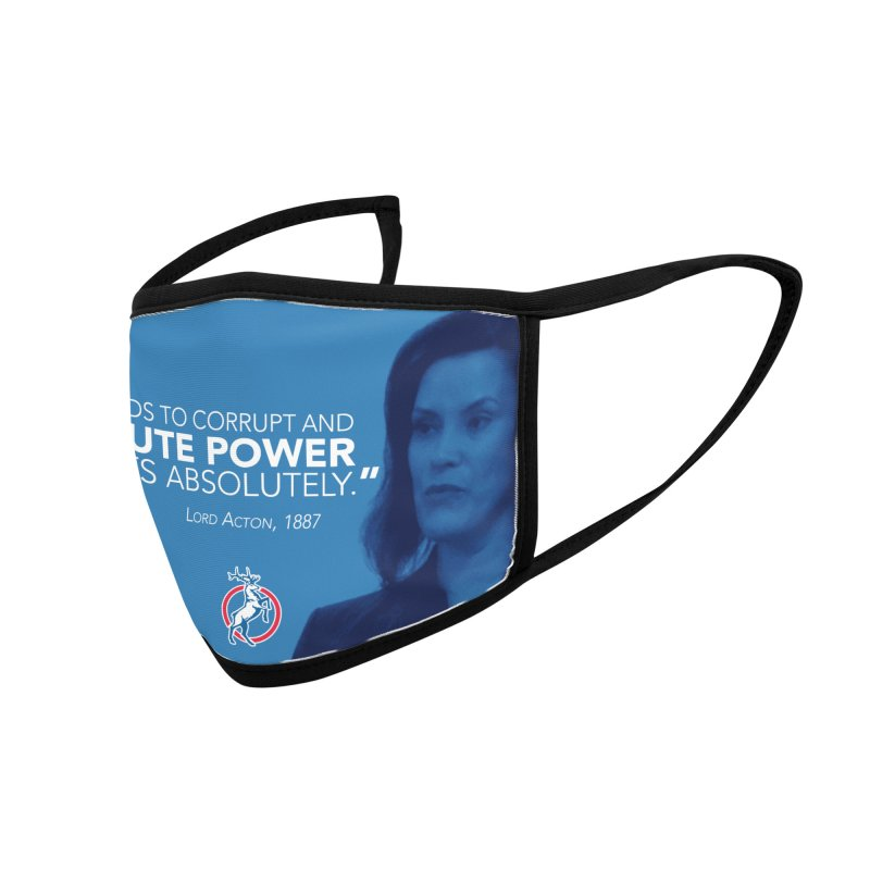 Power Corrupts Accessories Face Mask by Freedom Gear