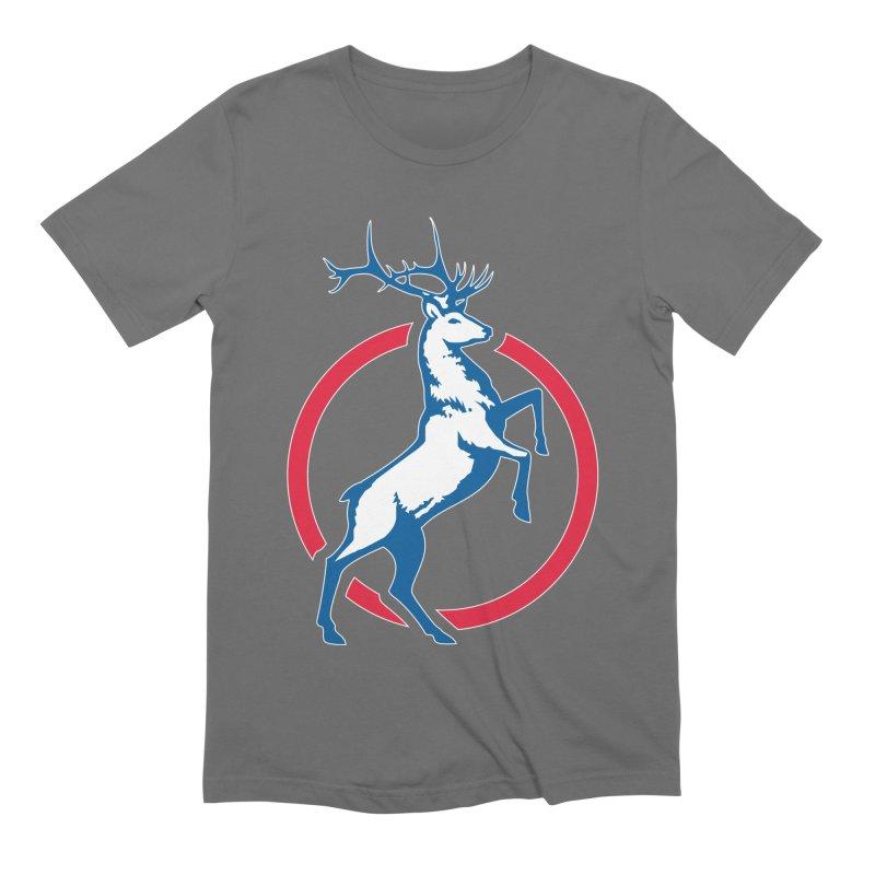 Elk Circle Logo Men's T-Shirt by Freedom Gear