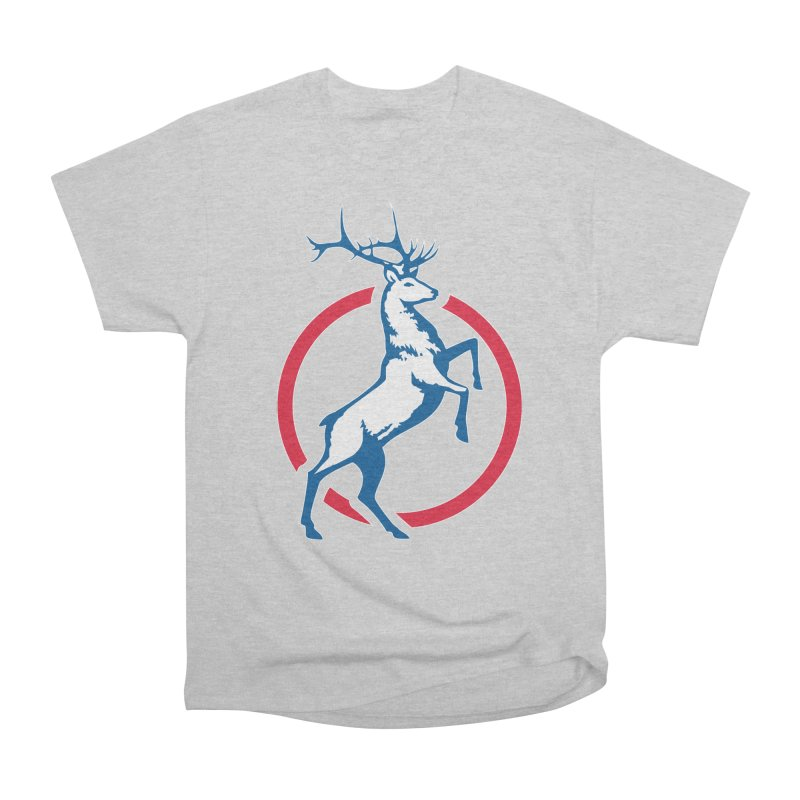 Elk Circle Logo Men's T-Shirt by Freedom Gear