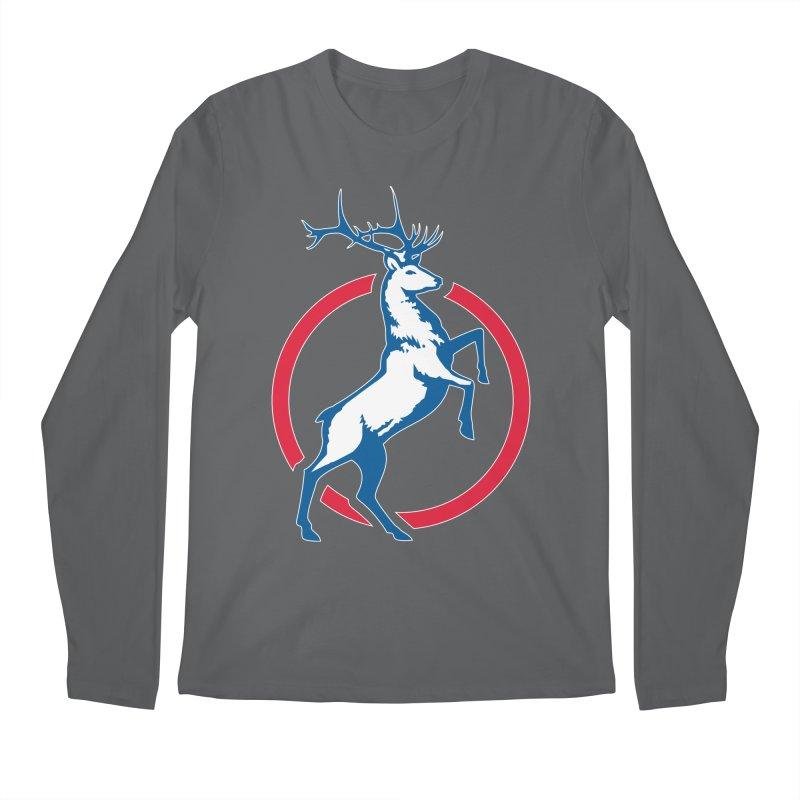 Elk Circle Logo Men's Longsleeve T-Shirt by Freedom Gear
