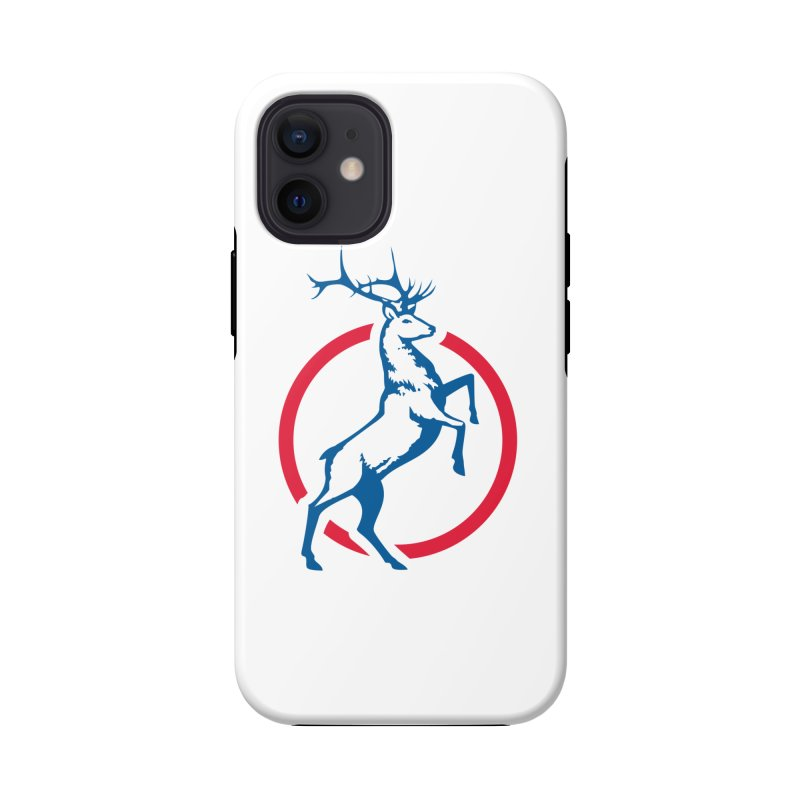 Elk Circle Logo Accessories Phone Case by Freedom Gear