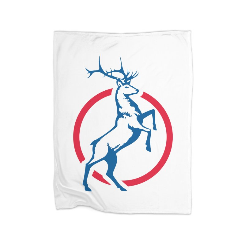 Elk Circle Logo Home Blanket by Freedom Gear