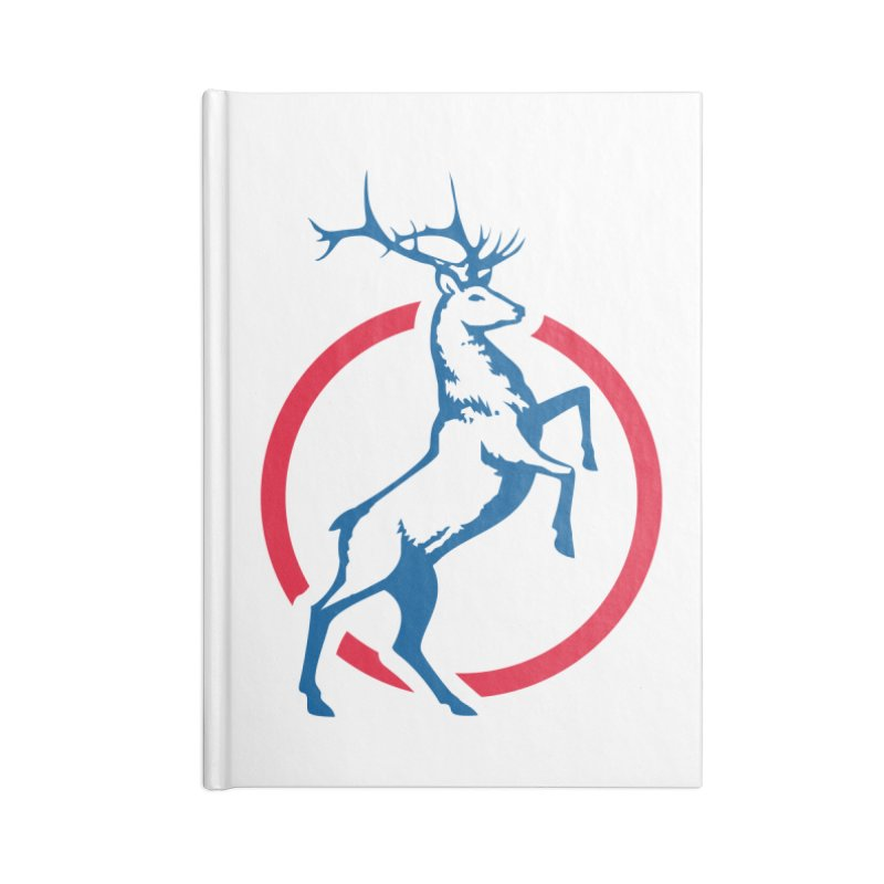 Elk Circle Logo Accessories Notebook by Freedom Gear