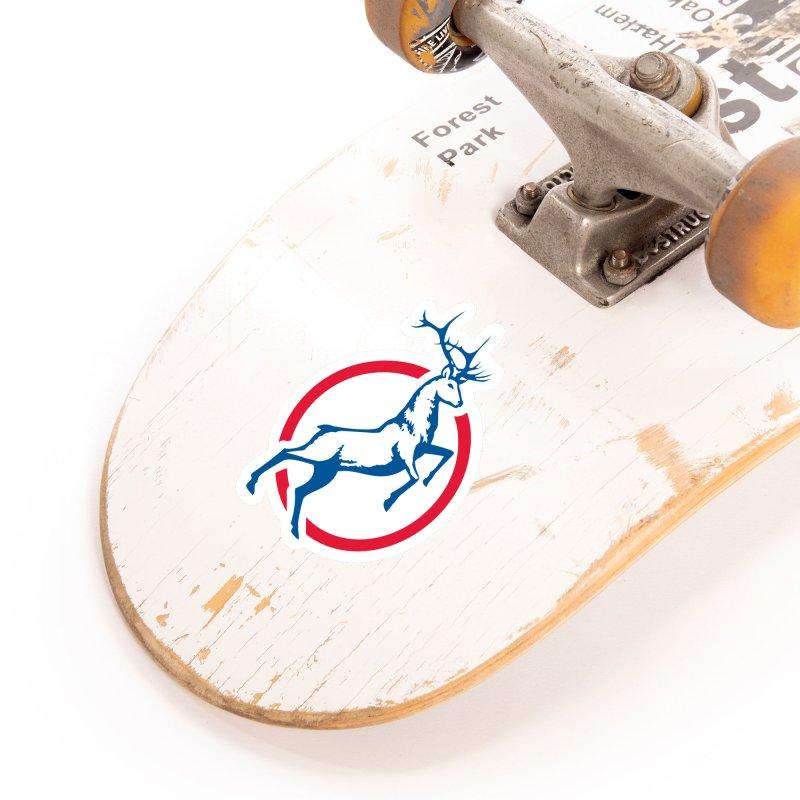 Elk Circle Logo Accessories Sticker by Freedom Gear
