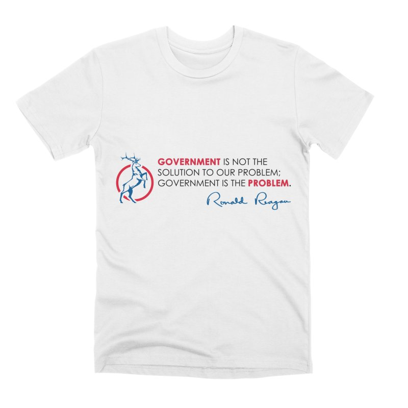 Government Solution Men's T-Shirt by Freedom Gear