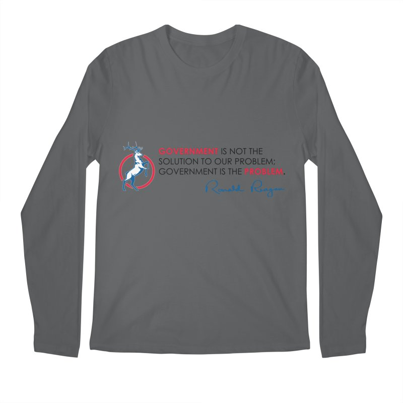 Government Solution Men's Longsleeve T-Shirt by Freedom Gear