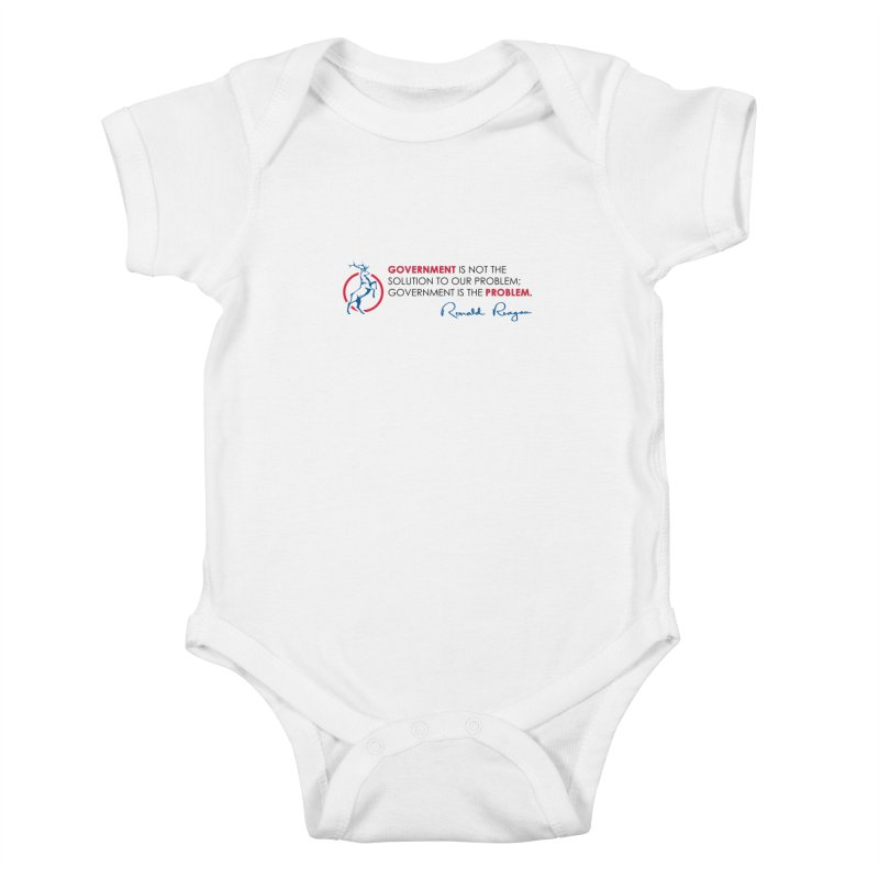 Government Solution Kids Baby Bodysuit by Freedom Gear