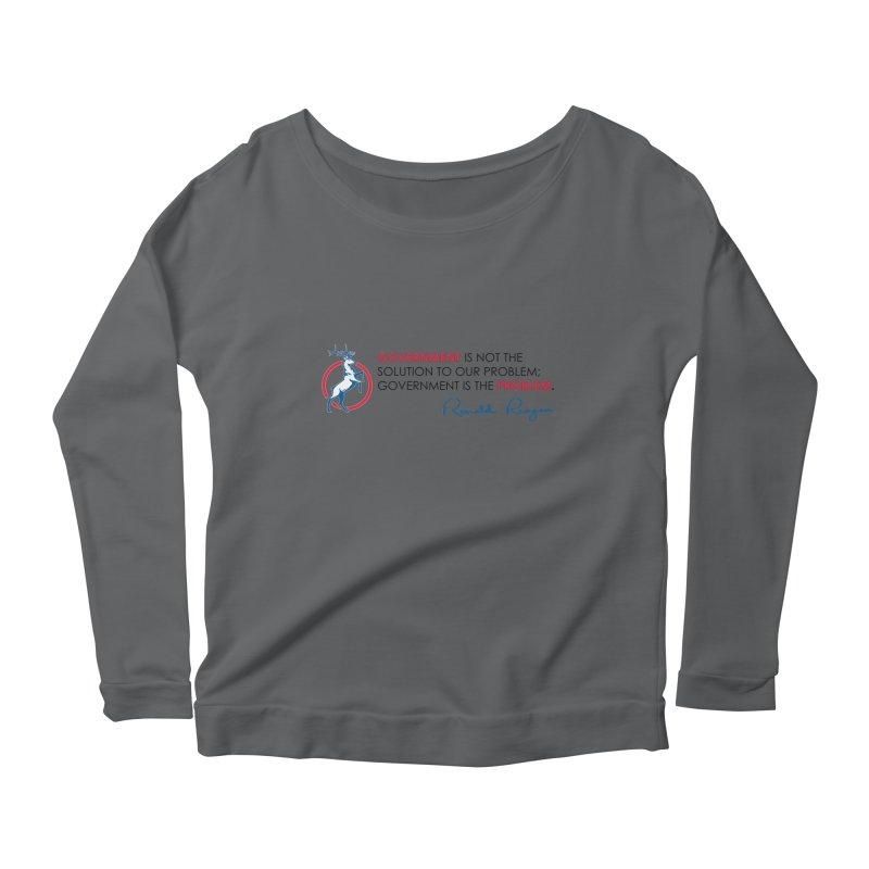 Government Solution Women's Longsleeve T-Shirt by Freedom Gear