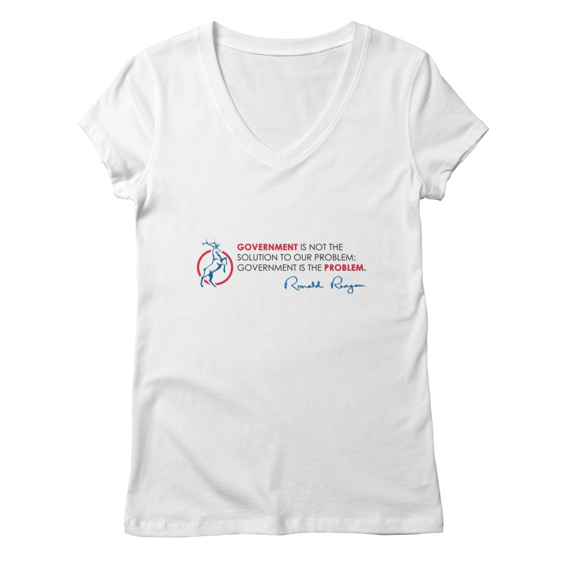 Government Solution Women's V-Neck by Freedom Gear