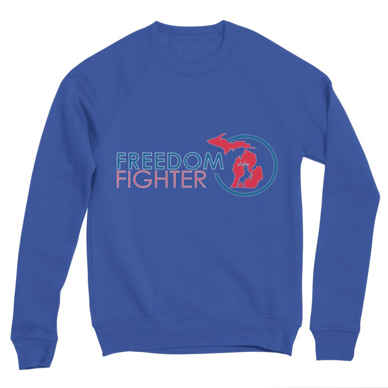 Freedom Fighter Men's Sweatshirt by Freedom Gear