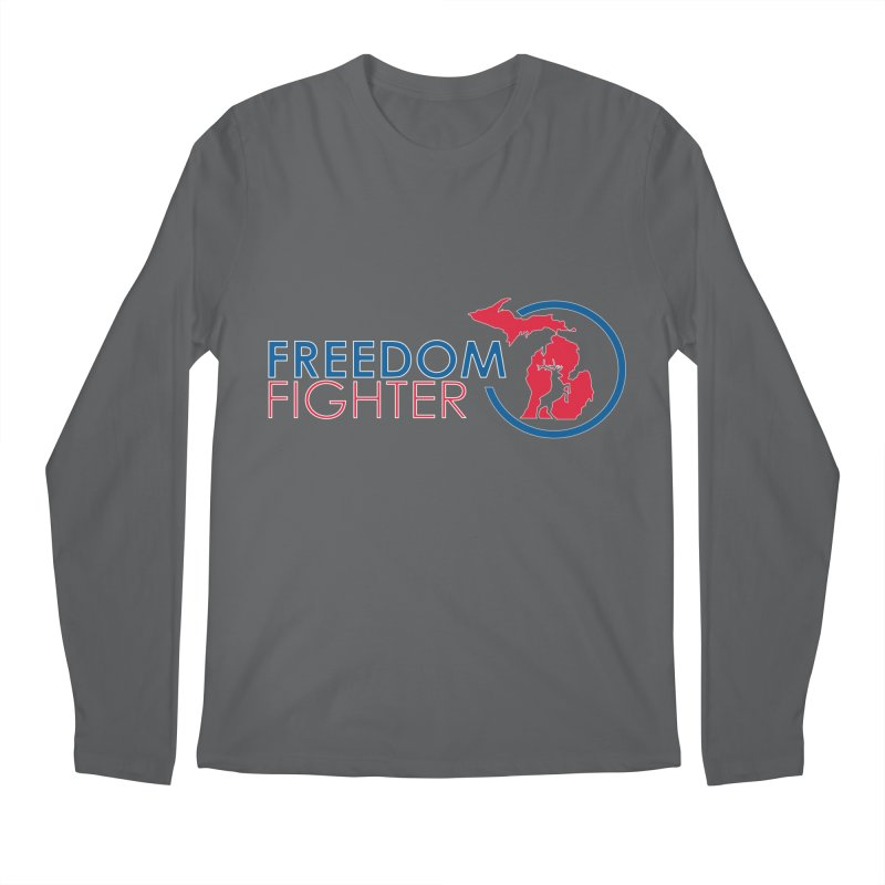 Freedom Fighter Men's Longsleeve T-Shirt by Freedom Gear