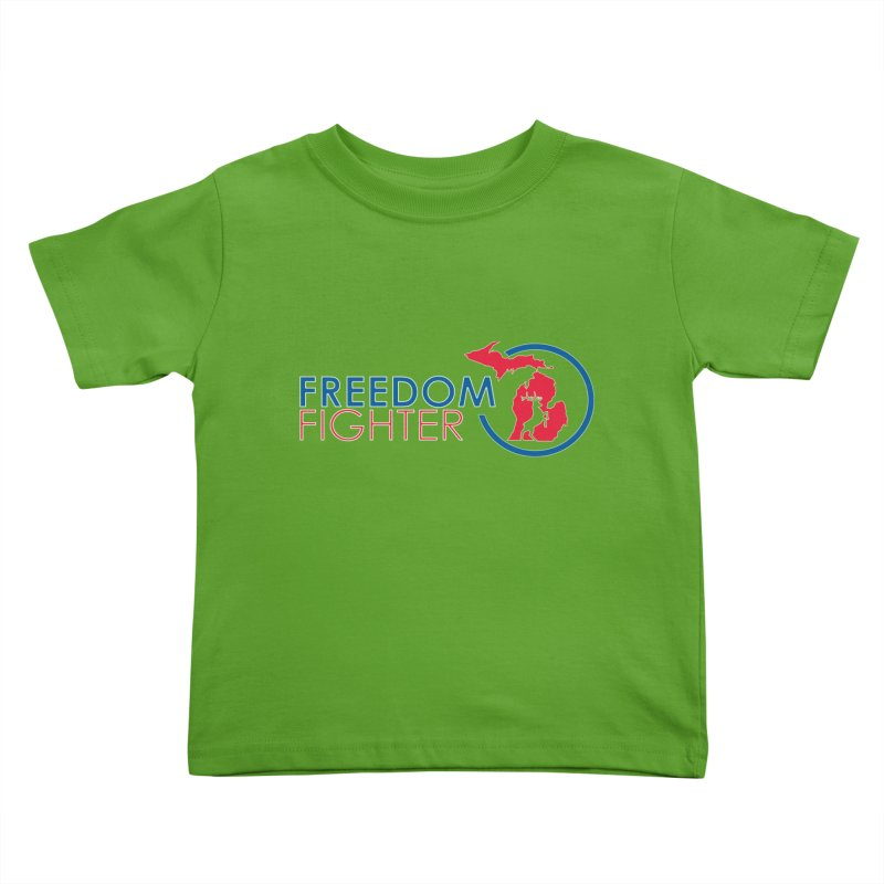 Freedom Fighter Kids Toddler T-Shirt by Freedom Gear