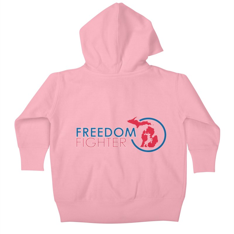 Freedom Fighter Kids Baby Zip-Up Hoody by Freedom Gear