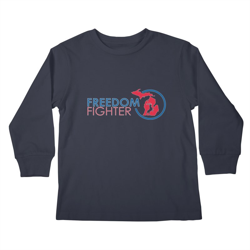 Freedom Fighter Kids Longsleeve T-Shirt by Freedom Gear