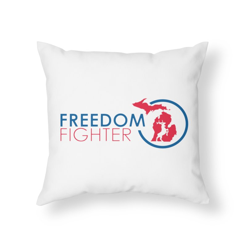 Freedom Fighter Home Throw Pillow by Freedom Gear