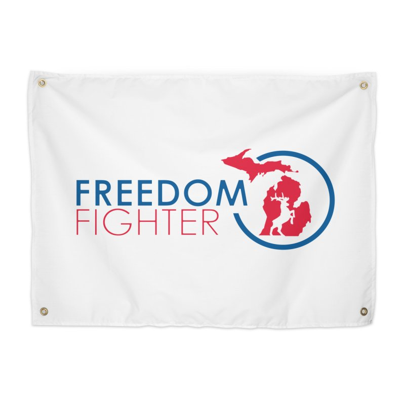 Freedom Fighter Home Tapestry by Freedom Gear
