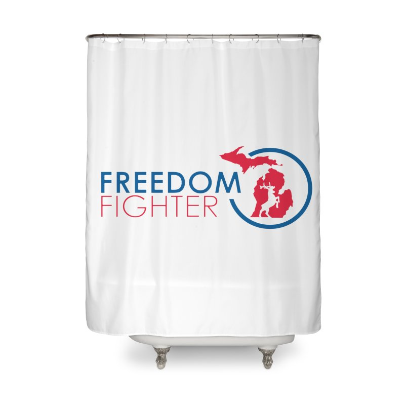 Freedom Fighter Home Shower Curtain by Freedom Gear