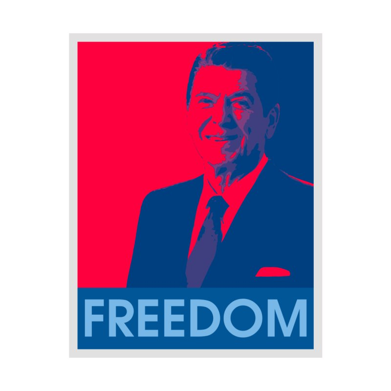 Freedom Reagan Men's T-Shirt by Freedom Gear