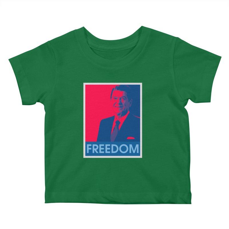 Freedom Reagan Kids Baby T-Shirt by Freedom Gear