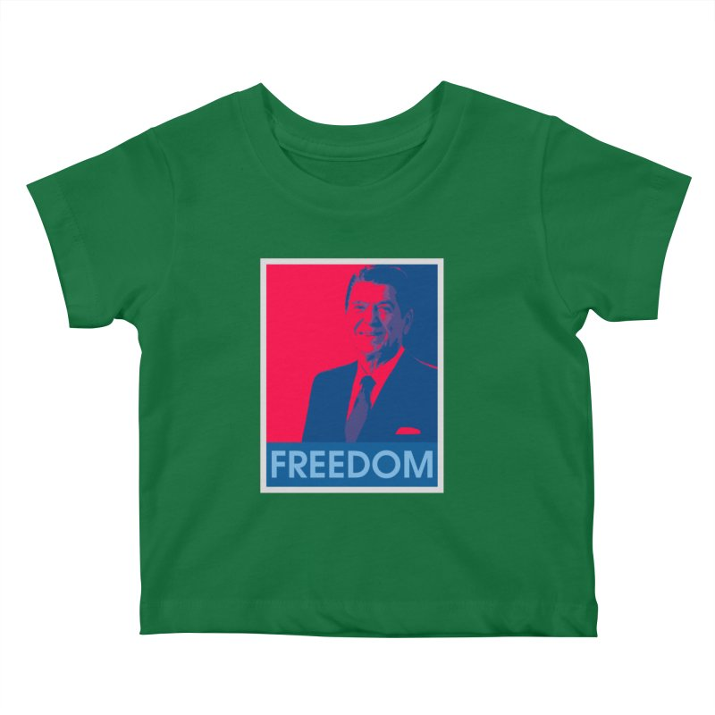 Freedom Reagan Kids Baby T-Shirt by Freedom Gear