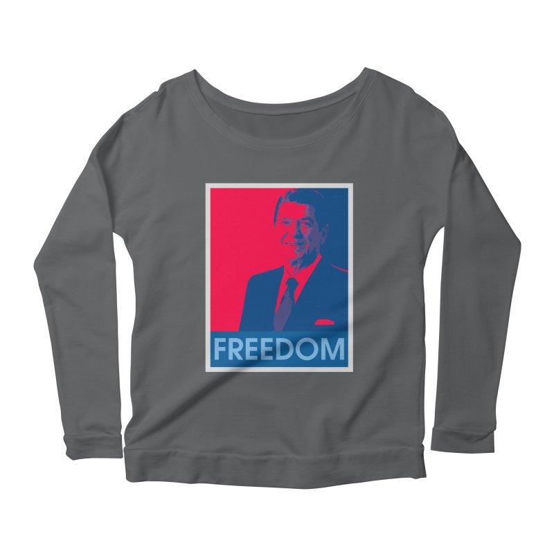 Freedom Reagan Women's Longsleeve T-Shirt by Freedom Gear