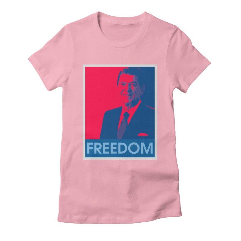 Freedom Reagan Women's T-Shirt by Freedom Gear