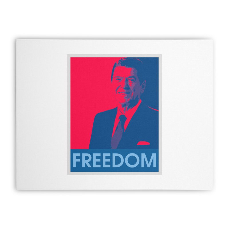 Freedom Reagan Home Stretched Canvas by Freedom Gear