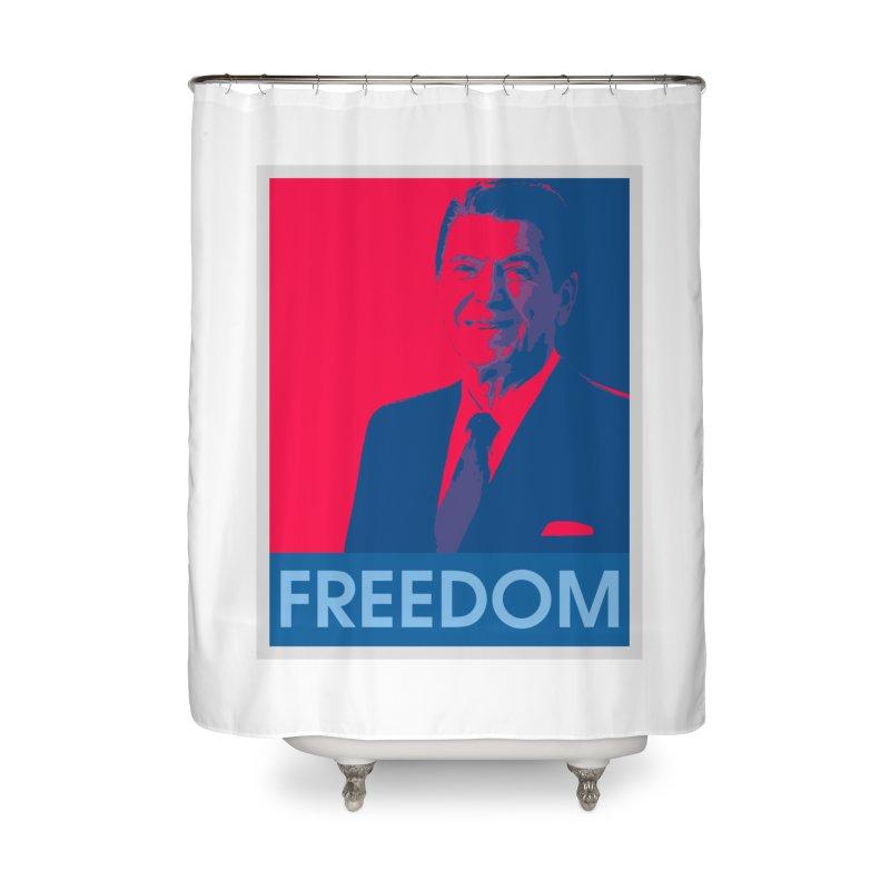 Freedom Reagan Home Shower Curtain by Freedom Gear