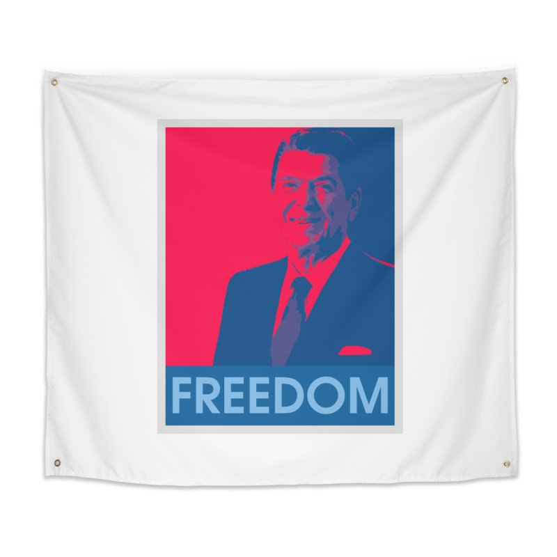 Freedom Reagan Home Tapestry by Freedom Gear