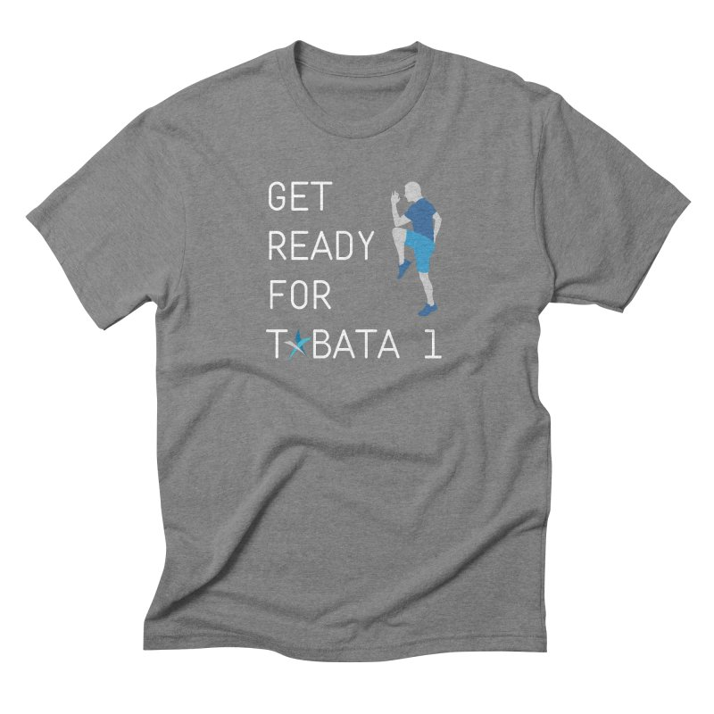 Tabata 1 Men's T-Shirt by Freedom Percussion Shop