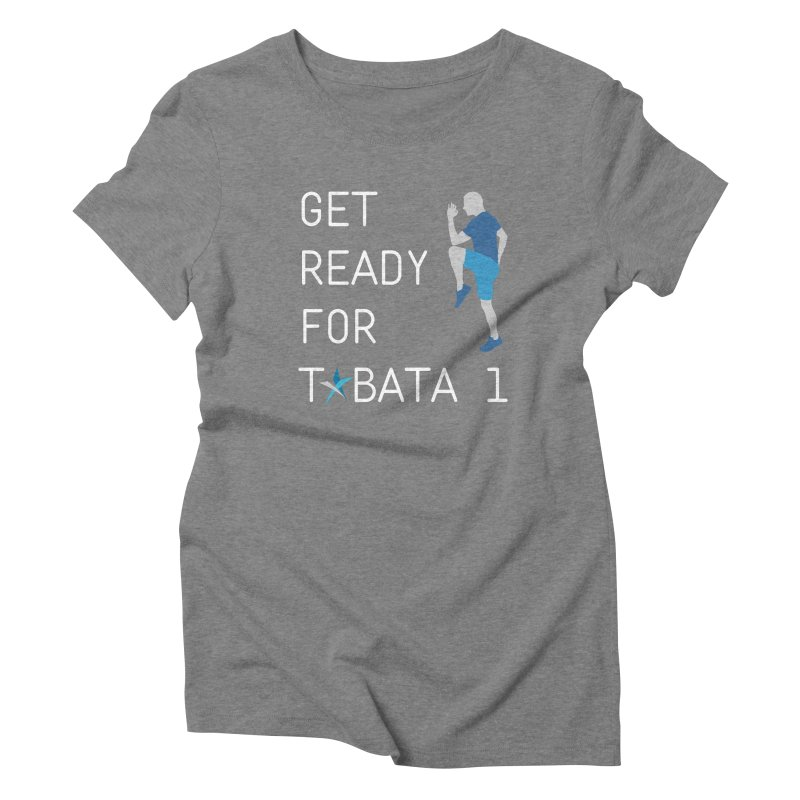 Tabata 1 Women's Triblend T-Shirt by Freedom Percussion Shop