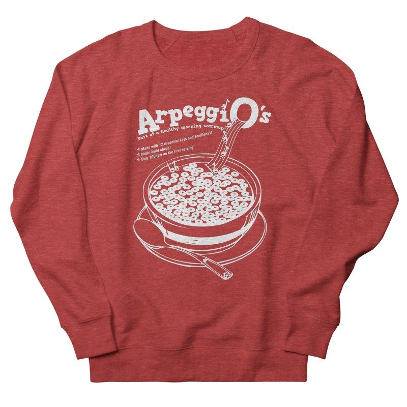 Apreggi O's Men's French Terry Sweatshirt by Freedom Percussion Shop