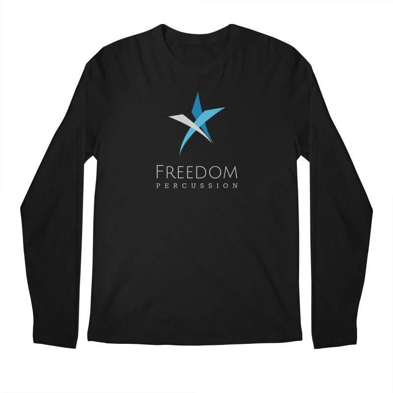 Freedom Logo Men's Regular Longsleeve T-Shirt by Freedom Percussion Shop