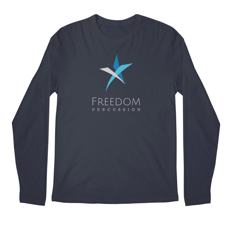 Freedom Logo Men's Longsleeve T-Shirt by Freedom Percussion Shop