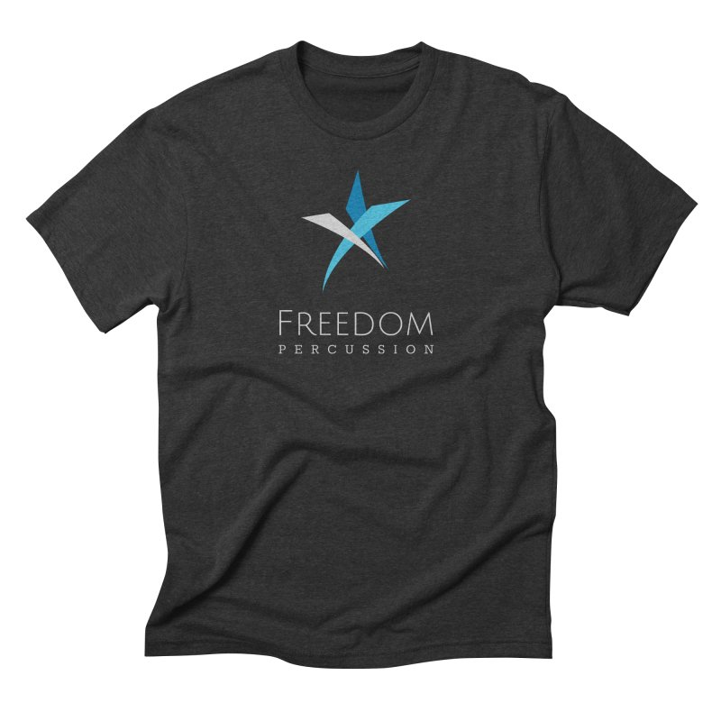 Freedom Logo Men's T-Shirt by Freedom Percussion Shop