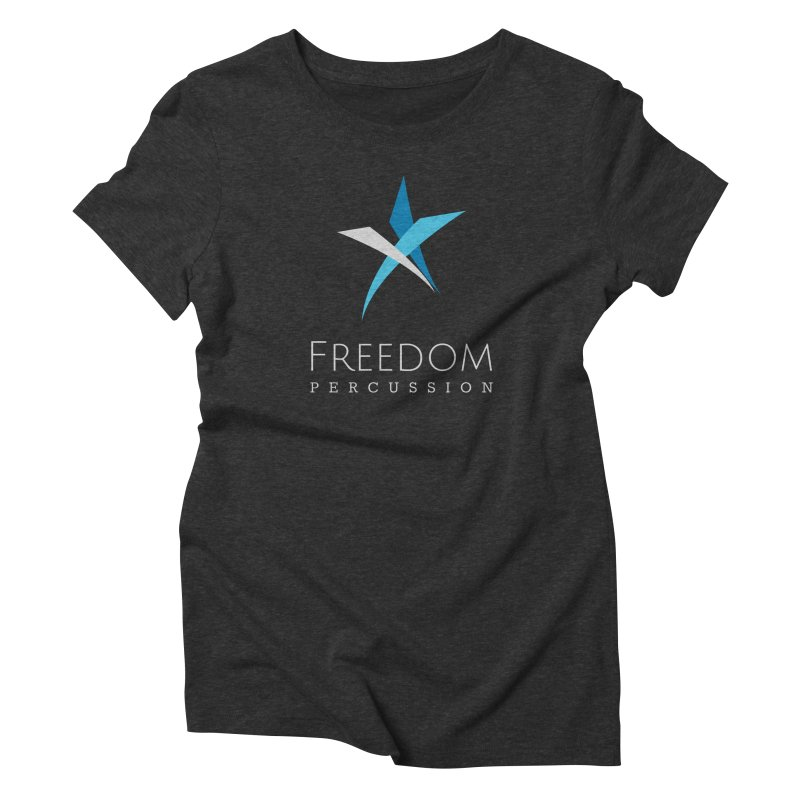 Freedom Logo Women's T-Shirt by Freedom Percussion Shop