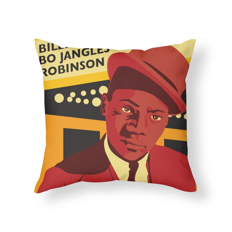 Bo Jangles Home Throw Pillow by In this great future, you can't forget your past.