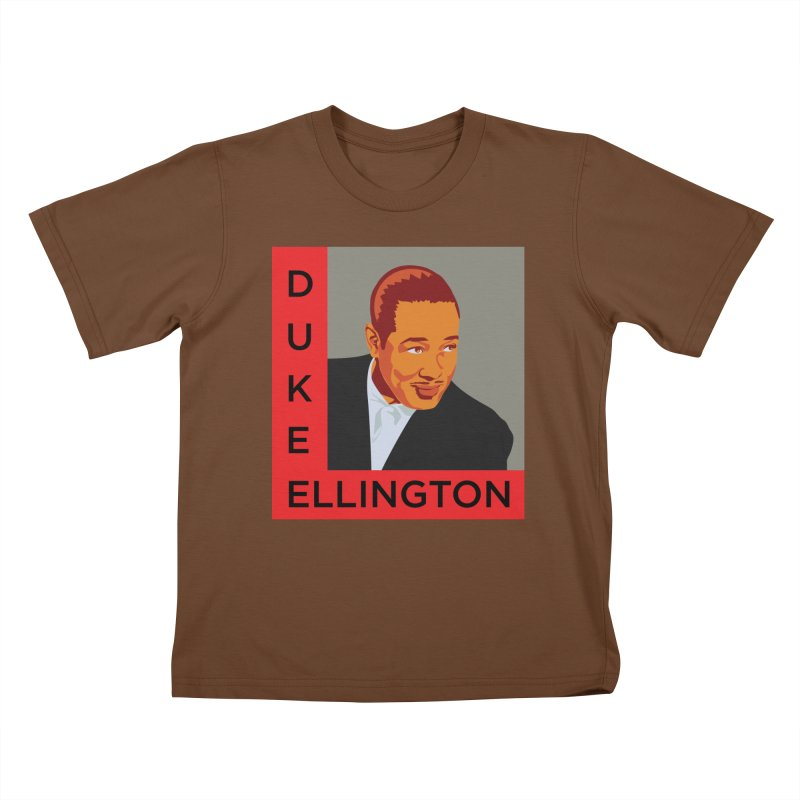 Duke Ellington Kids T-Shirt by In this great future, you can't forget your past.