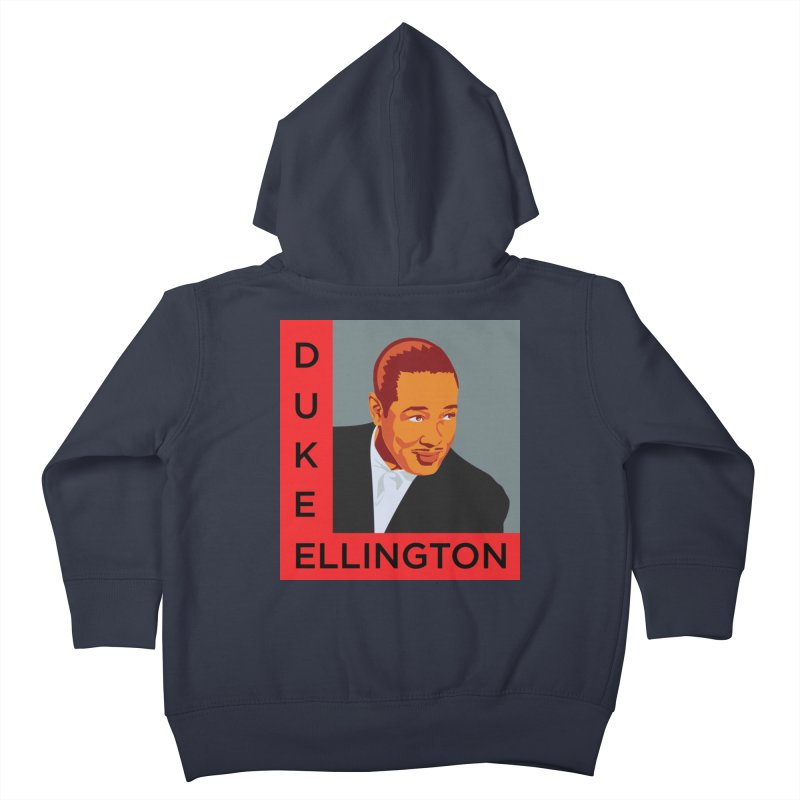 Duke Ellington Kids Toddler Zip-Up Hoody by In this great future, you can't forget your past.