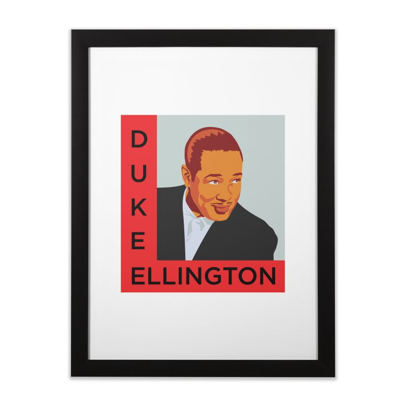 Duke Ellington Home Framed Fine Art Print by In this great future, you can't forget your past.