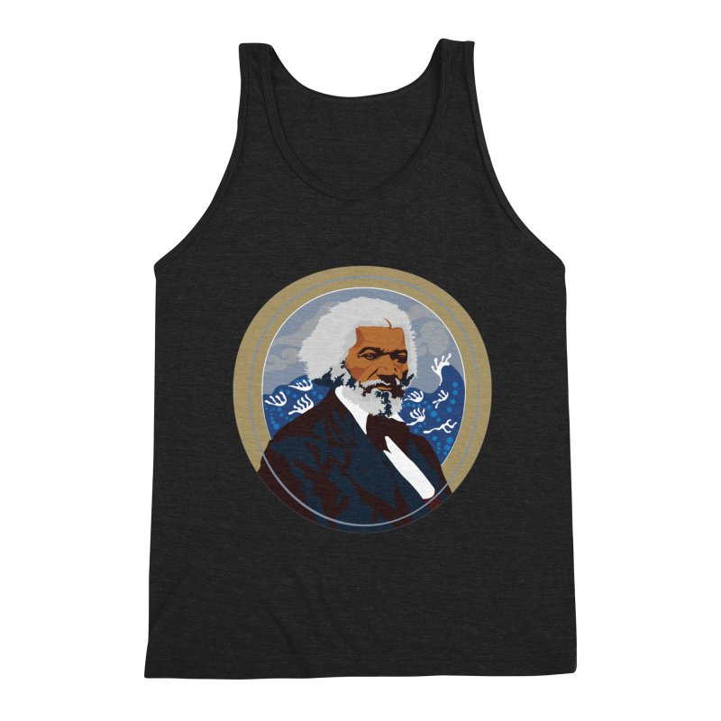 Frederick Douglass Men's Triblend Tank by In this great future, you can't forget your past.