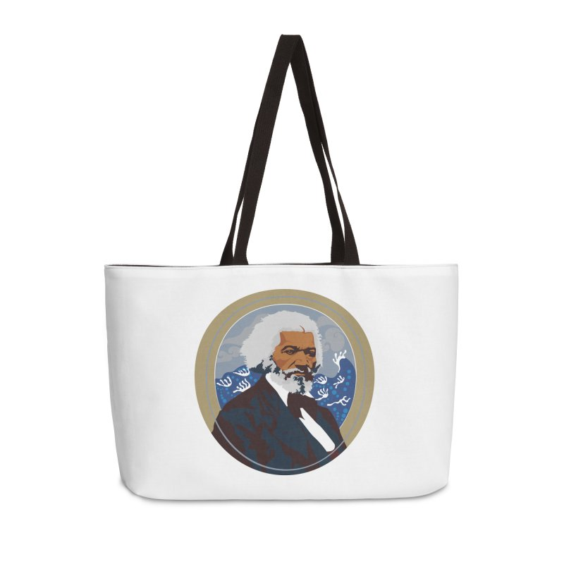Frederick Douglass Accessories Weekender Bag Bag by In this great future, you can't forget your past.